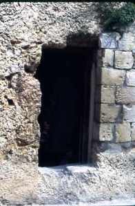 Israel Garden Tomb Entrance